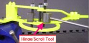 Hinge and Scroll Tool